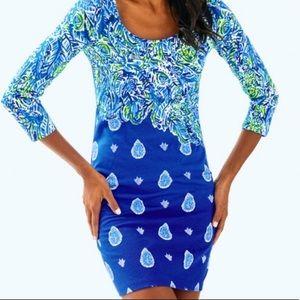 Soft twilight blue blue Lilly Pulitzer Dress
